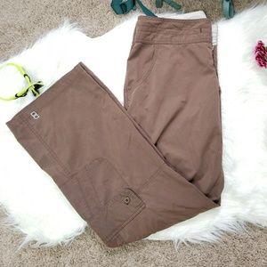 Lucy Brown Lightweight Cargo Pants